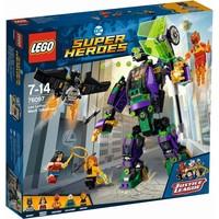 Lex Luthor mecha-overwinning Lego