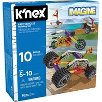 Fast Vehicles K`nex: 96 stuks