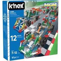 Bouwdoos 12 modellen auto`s K`nex: 187 stuks
