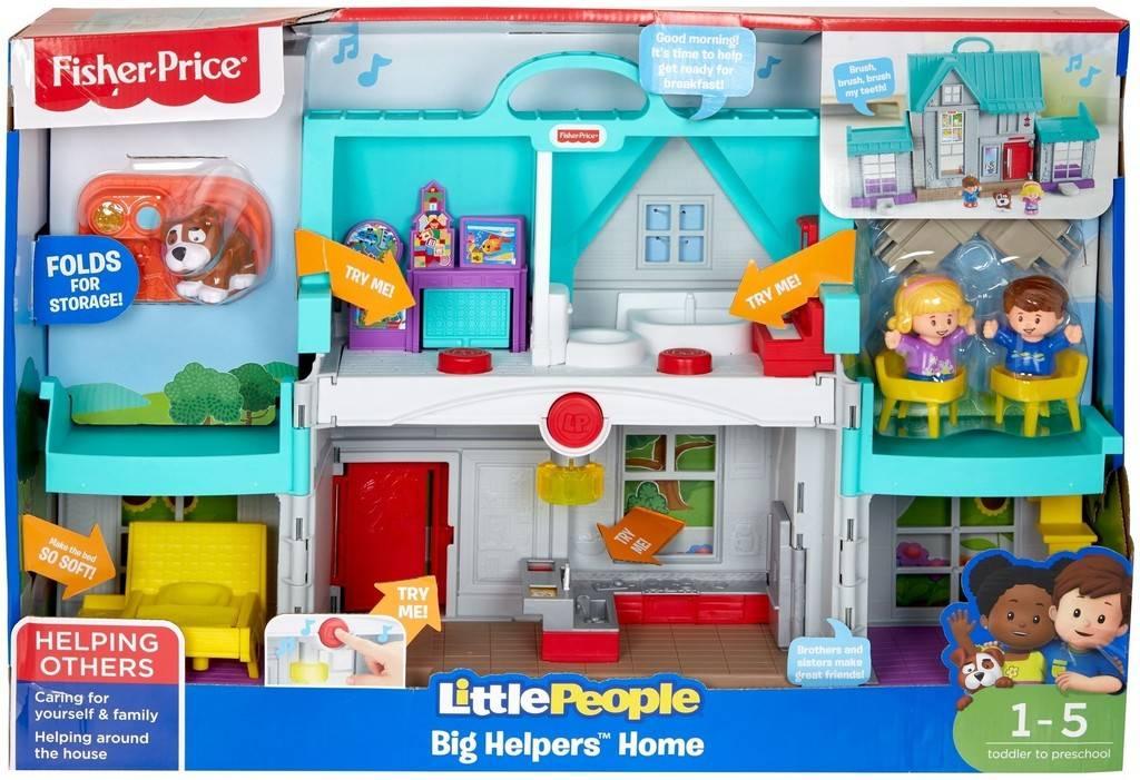 Fisher Price Little People Handige Helpers Huis