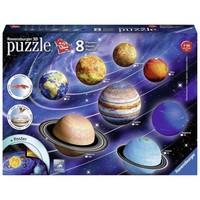 Puzzel zonnestelsel 3d: 27/54/72/108 stukjes