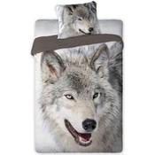 Dekbed Wolf 140x200/70x80 cm