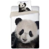 Dekbedovertrek Panda 140x200/70x80 cm