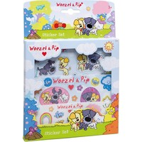 Sticker set Woezel en Pip ToTum: 45 stickers