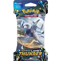 Pokemon booster SM8 Sun & Moon Lost Thunder sleeved
