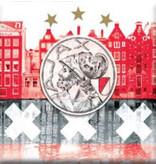AJAX Amsterdam Giftcard ajax met magneet rood