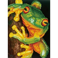 Green Tree Frog Diamond Dotz