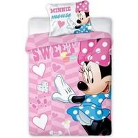 Dekbed Minnie Mouse ledikant sweet: 100x135/40x60 cm