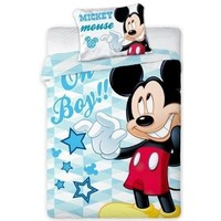 Dekbed Mickey Mouse ledikant boy: 100x135/40x60 cm