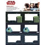 Etiketten Star Wars 18 stuks