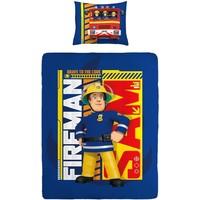 Dekbed Brandweerman Sam