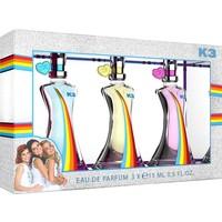 Eau de Parfum geschenkenset K3: 3x 15 ml