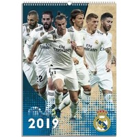Kalender real madrid 2019 42x30 cm