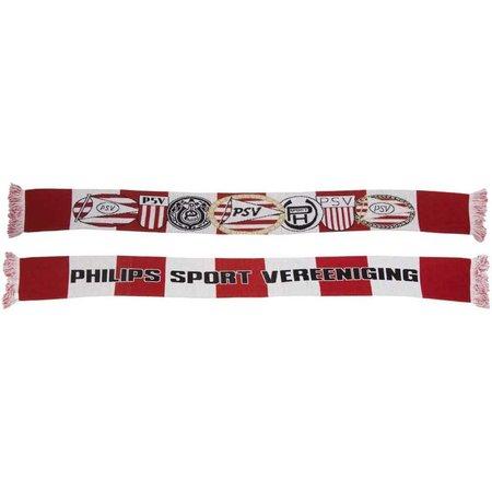 PSV Eindhoven Sjaal psv rood/wit logo`s