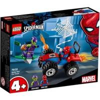 Auto achtervolging Spider-Man Lego