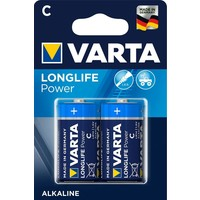 Batterijen Varta High Energy Alkaline C 2 stuks