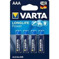 Batterijen Varta High Energy Alkaline AAA 4 stuks