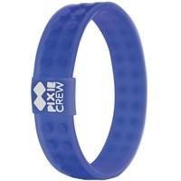 Armband Pixie Crew blauw: 7x2 cm
