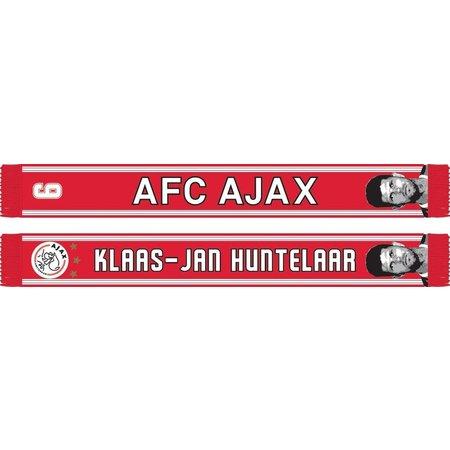 AJAX Amsterdam Sjaal ajax rood/wit Huntelaar