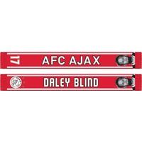 Sjaal ajax rood/wit Blind