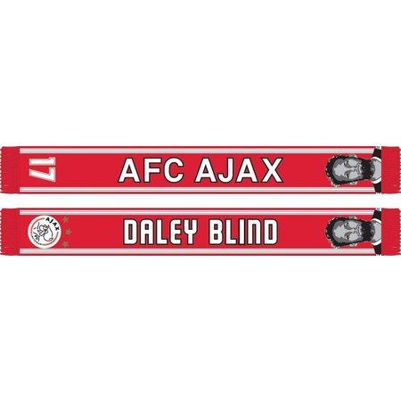 AJAX Amsterdam Sjaal ajax rood/wit Blind
