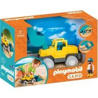Graafmachine met schep Playmobil
