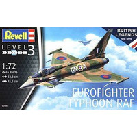 Eurofighter Typhoon RAF Revell schaal 172