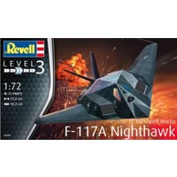 F-117A Nighthawk Stealth Fighter Revell: schaal 1:72