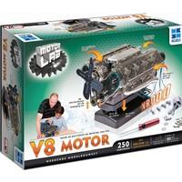 Bouwmodelset Motor Lab V8 motor 250-delig
