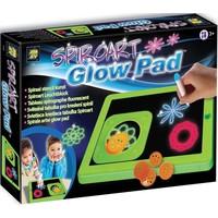 Glow Pad Spiro Art
