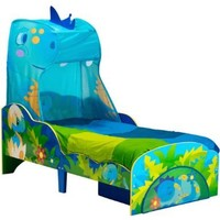 Bed Kind dinosaurus 142x77x138 cm