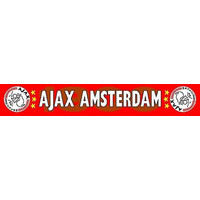 Sjaal ajax rood 1900