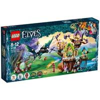 Vleermuisaanval bij de Elvenstar boom Lego