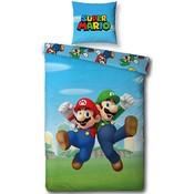 Dekbedovertrek Nintendo Mario/Luigi 140x200cm