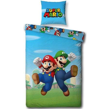 Nintendo Dekbedovertrek Nintendo Mario/Luigi 140x200cm