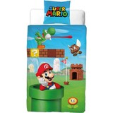 Dekbedovertrek Nintendo Mario 140x200cm
