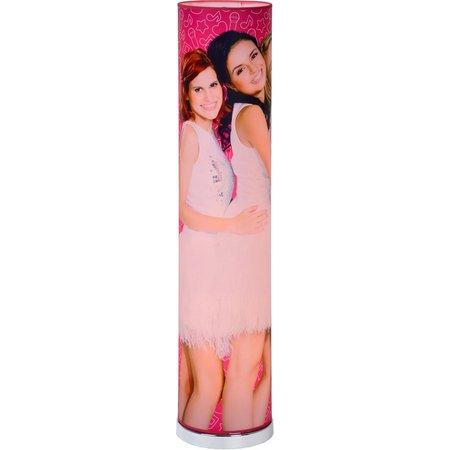 K3 Vloerlamp K3 roze 110x19 cm