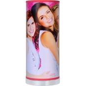 Tafellamp K3 roze: 36x15 cm