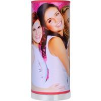 Tafellamp K3 roze 36x15 cm