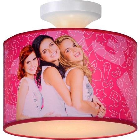 K3 Plafonniere K3 roze: 30x20 cm