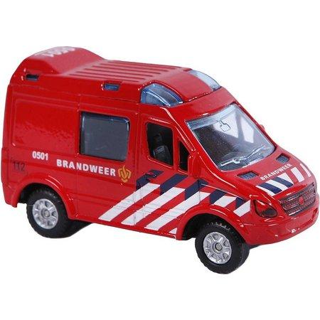 Kids Globe Auto pb Kids Globe brandweer (520083)
