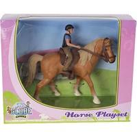 Speelset Kids Globe paard met ruiter