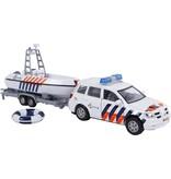 2-Play Auto pb 2-Play politieauto met politieboot