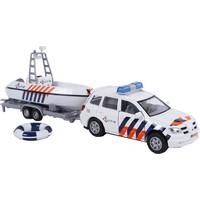 Auto pb 2-Play politieauto met politieboot