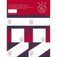 Etiketten Ajax AFC 18 stuks