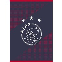 Schrift Ajax AFC A4 geruit