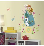 Frozen Muursticker Frozen Fever RoomMates: group