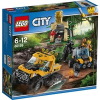 Jungle missie met halfrupsvoertuig Lego