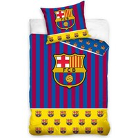 Dekbedovertrek barcelona stripes 140x200cm
