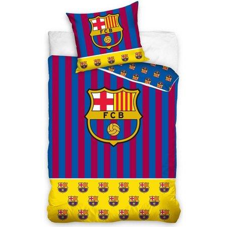 Barcelona FC Dekbedovertrek barcelona stripes 140x200cm